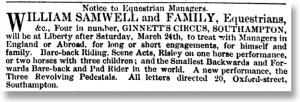 The Era 11 March 1866
